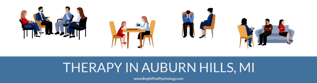 Therapists in Auburn Hills Michigan