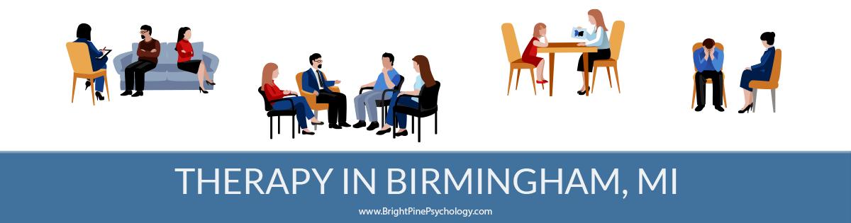 Therapists in Birmingham, Michigan