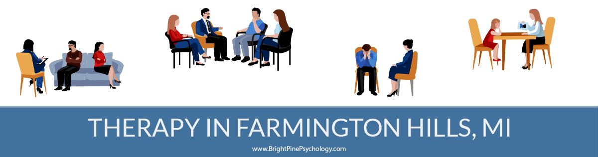 Therapists in Farmington Hills, Michigan
